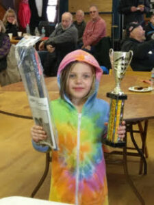 2019 ice fishing kids winner